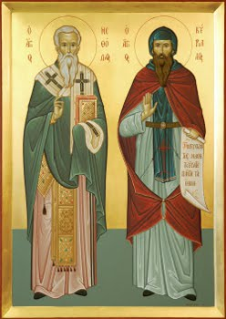 Misia bratov Konštantína (Cyrila) a Metoda