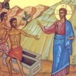 Uzdravenie posadnutých v gadarskom kraji