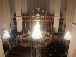 Posvätenie prvého chrámu svätého Paisija Svätohorského