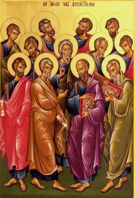 Dvanásti apoštoli