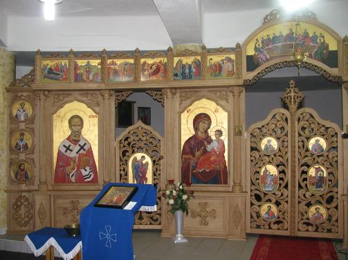 Posviacka ikonostasu v Bardejove