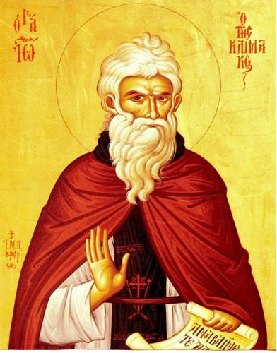Ctihodný Ján Sinajský