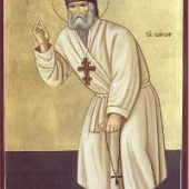 Serafim Sarovský mníchom
