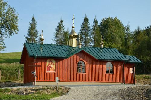 Posvätenie chrámu v obci Bodružal