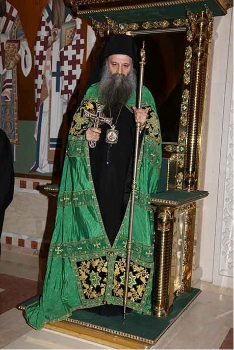 Nový srbský patriarcha Porfýrij